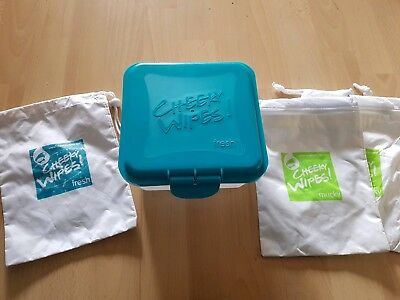 Cheeky wipes fresh wipe container and assessories