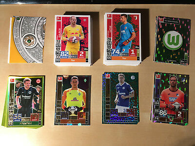 Match Attax Bundesliga 18/19 Sammlung - Limitiert, Club Einhundert etc.