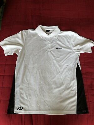 Daiwa Japan Original Poloshirt Team Shirt Raubfisch Angeln Polohemd