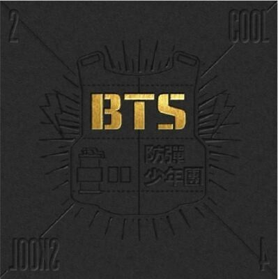 "BTS Album ""2 Cool 4 Skool"" - 1 Photobook + 1 CD / K-PoP Free Shipping"