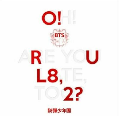 "BTS Album ""O!RUL8,2"" - 1 Photobook + 1 CD / K-PoP Free Shipping"