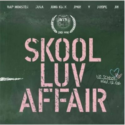 "K-PoP BTS Album ""Skool Luv Affair""- 1Photobook + 1CD / Free Shipping"