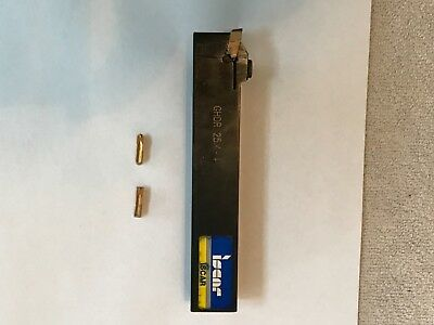 Iscar GHDR 25.4-4 Parting and Grooving Tool Holder, very good condition , used
