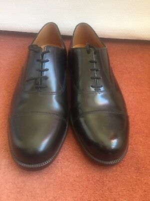 Cadet Parade Shoes. Oxford Capped Suitable For ATC, Army cadets CCF Etc