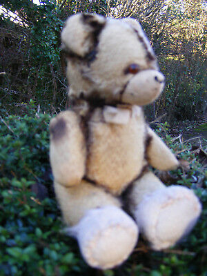 Marble,rare German Little Antique Vintage Old Bear Needs A Loving Home