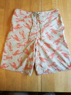 277ab575ec Ted Baker Mens Lobster Trunks Size 5 -45 inch waist Shorts Swimming Floral