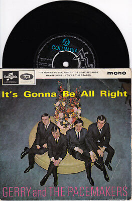 EP Gerry and the Pacemakers - It´s gonna be alright + 3   UK 1964