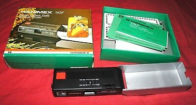 Hanimex 110F Pocket Camera Outfit Boxed with Instructions lomography/working