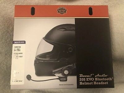Harley Davidson CVO Boom! Audio 20S Bluetooth Helm-Headset