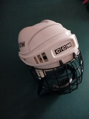 Casque  Hockey Glace Roller   Ice  Street  Ccm  Taille M-L Grille Easton Neuve