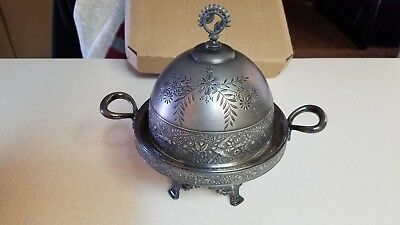 Vintage Silverplate Butter Dome, Mermod Jaccard & Co