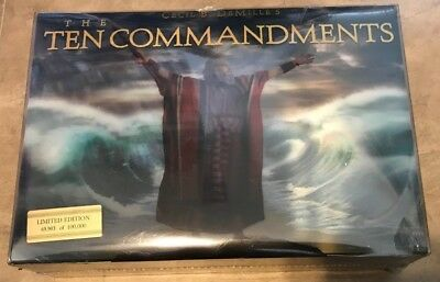 The Ten Commandments 6 Disc Limited Edition Blu-ray + DVD Combo Gift Set NEW