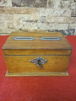 Vintage Wooden Collection Box