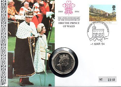 """Numisbrief """"Prince of Wales - Charles"""""""