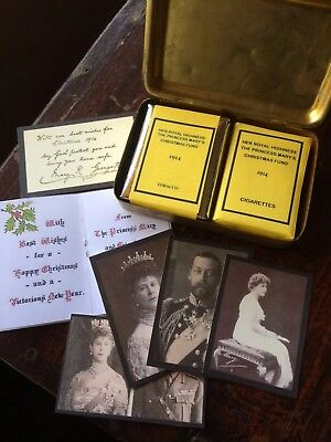 Original WW1 1914 Princess Mary Christmas Tin.