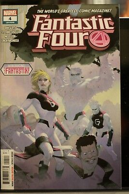 Fantastic Four #4 1St Print Marvel Comics (2019)