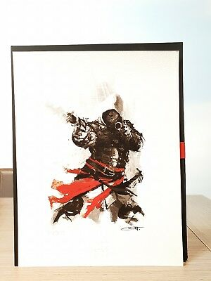Assassins Creed Red Lineage Collection Bayek Giclee Lithograph