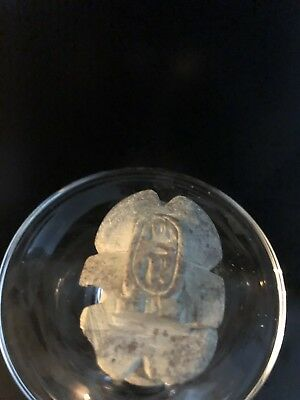 Rare Ancient Egyptian Stone Scarab 26th DYN 680 BC