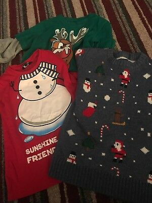 Small Bundle Festive Clothes Boy 4:5 Yrs Christmas