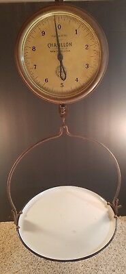 Antique John Chatillon & Sons 20Lbs Hanging Scale