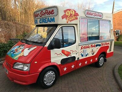 **Ford Transit Ice Cream Van - Business For Sale**