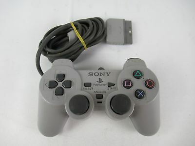 OEM Sony SCPH-1200 Playstation 1 PS1 Dual Shock Analog Controller Gray