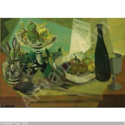 "Claude Venard,     ""Nature Morte"" with Sotheby's Provenance"