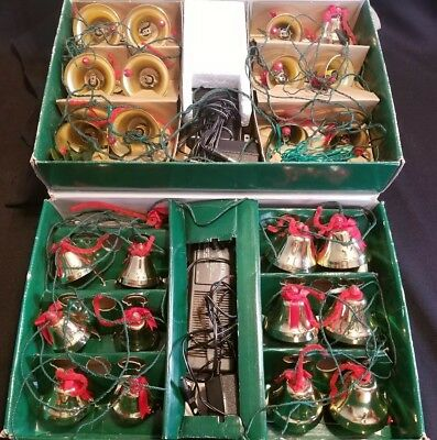 Ye Merry Minstrel Caroling Christmas Bells 24 Metal Bells 25 Songs Parts Only