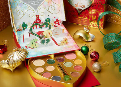 PUR The Grinch Good Enough To Steal Face Palette & Color-Changing Lip Balm Set