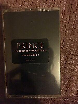 PRINCE - The Legendary BLACK ALBUM - Limited Edition MC