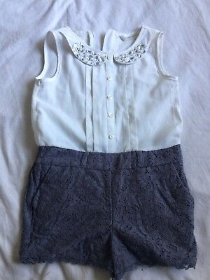 Girl's Shorts Playsuit - 5 Years - Matalan - Dressy - Party