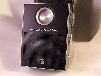 National Panasonic RF-155  7-Transistor Radio Japan Extremely Rare Great Cond