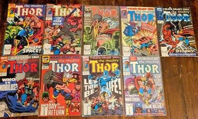 The Mighty Thor #417-424 #426 (9 issues) MARVEL 418 419 420 421 422 423