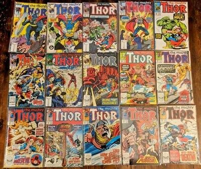 The Mighty Thor #381-389 #391-399 (18 issues) MARVEL 396 382 383 384 385 1987