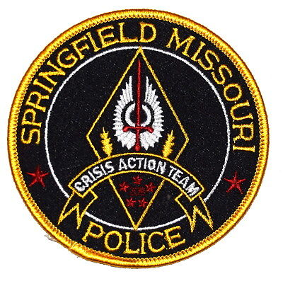"""SPRINGFIELD – CRISIS ACTION TEAM - MISSOURI MO Sheriff Police Patch 3.5"""" ~"""