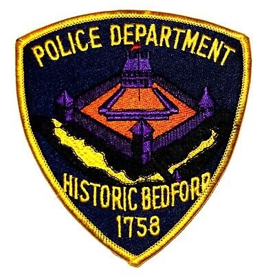 BEDFORD PENNSYLVANIA PA Sheriff Police Patch HISTORIC STOCKADE COURTHOUSE ~