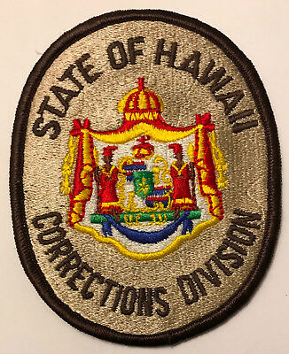 Hawaii Corrections Division DOC Police Sheriff Patch