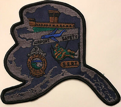 Alaska SERT Special Emergency Response Team SWAT Subdued Airport Police Patch