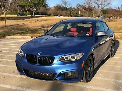 2015 BMW 2-Series  2015 BMW M235i Coupe - Estoril Blue / Coral Red - 6sp, LSD - Loaded - Low Miles