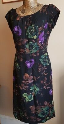 Hobbs floral dress size 10UK very good condition