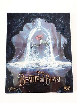 Beauty and the Beast 3D + 2D Blu-ray Steelbook (South Korea Limited Edition)