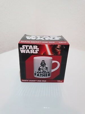 Star Wars Darth Vader i am your Father Mini Becher Espresso Offiziell