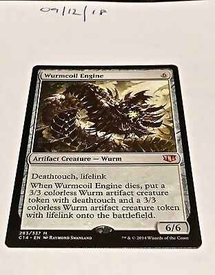 Magic the Gathering MTG Wurmcoil Engine x1 Mythic Rare Card NM/M Commander 2014