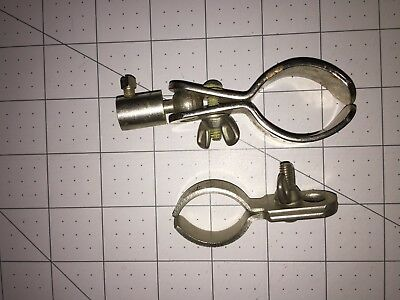 Lot of 2 Vintage Victor Adjustable Tube Clamps