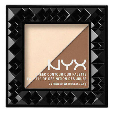 NYX Cheek Contour Duo Palette (Pick Your Shade) - Free USA Shipping
