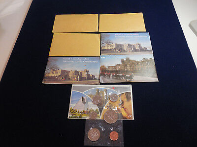7 Canadian Uncirculated Sets (1968-70, 1975-79) (cn7)