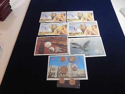7 Canadian Uncirculated Sets (1982-1988) (cn7)