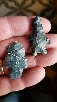 Authentic Arrowheads Coshocton Indian Artifacts Stone Tools Nice Points