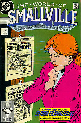Vintage Comic Book - The World of Smallville #4
