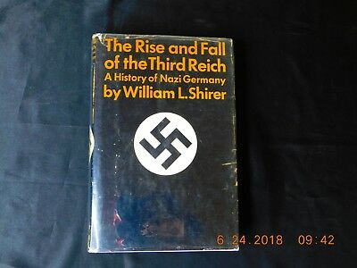 The Rise And Fall Of The Third Reich - Nazi Germany - Shirer - 1960 - 5th Print!